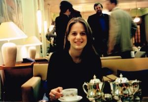 Tea at the Park Lane Hotel, October 1996